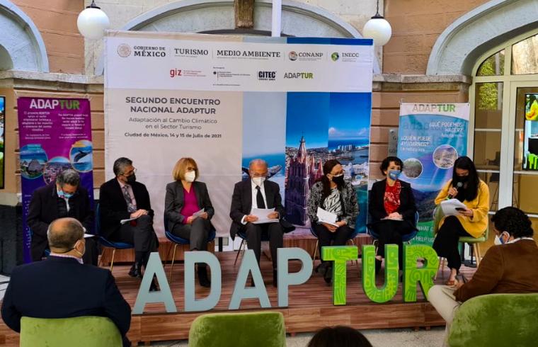 El cambio climático: Tema común para la agenda del sector turismo y medio ambiente en el segundo encuentro nacional ADAPTUR